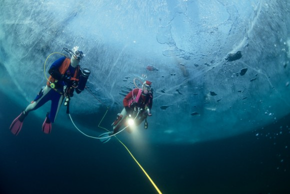 Bild 6 Eistauchen Icediving 25